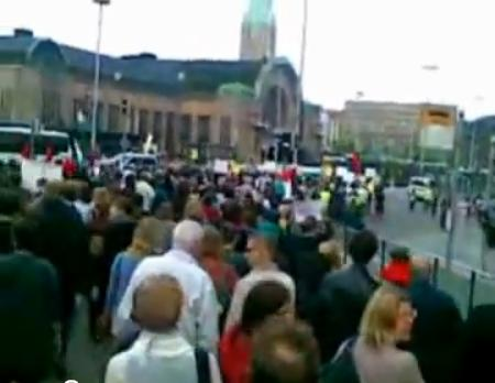 Mielenosoitus Israelin valtioterroria vastaan