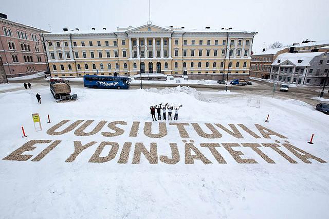 Helsinki irti ydinvoimalahankkeista!
