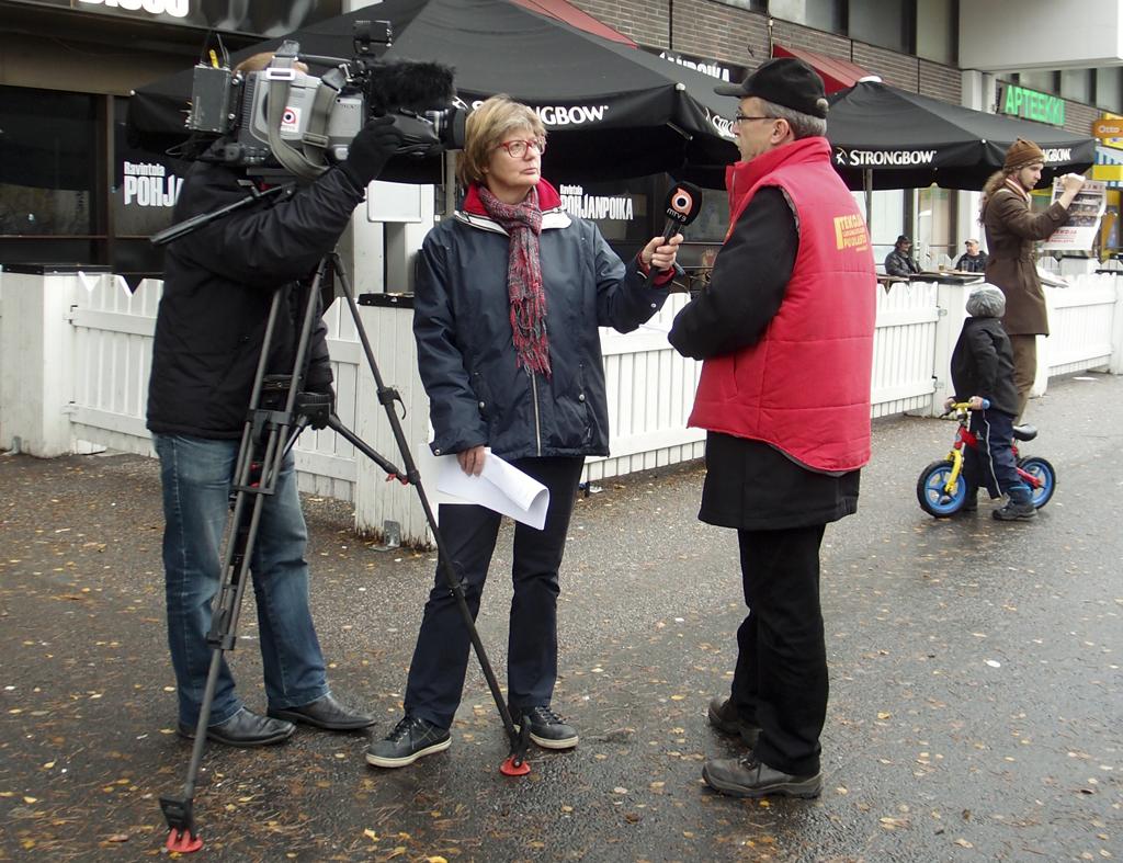 MTV3 Uutiset ja Yrjö Hakanen Jakomäessä