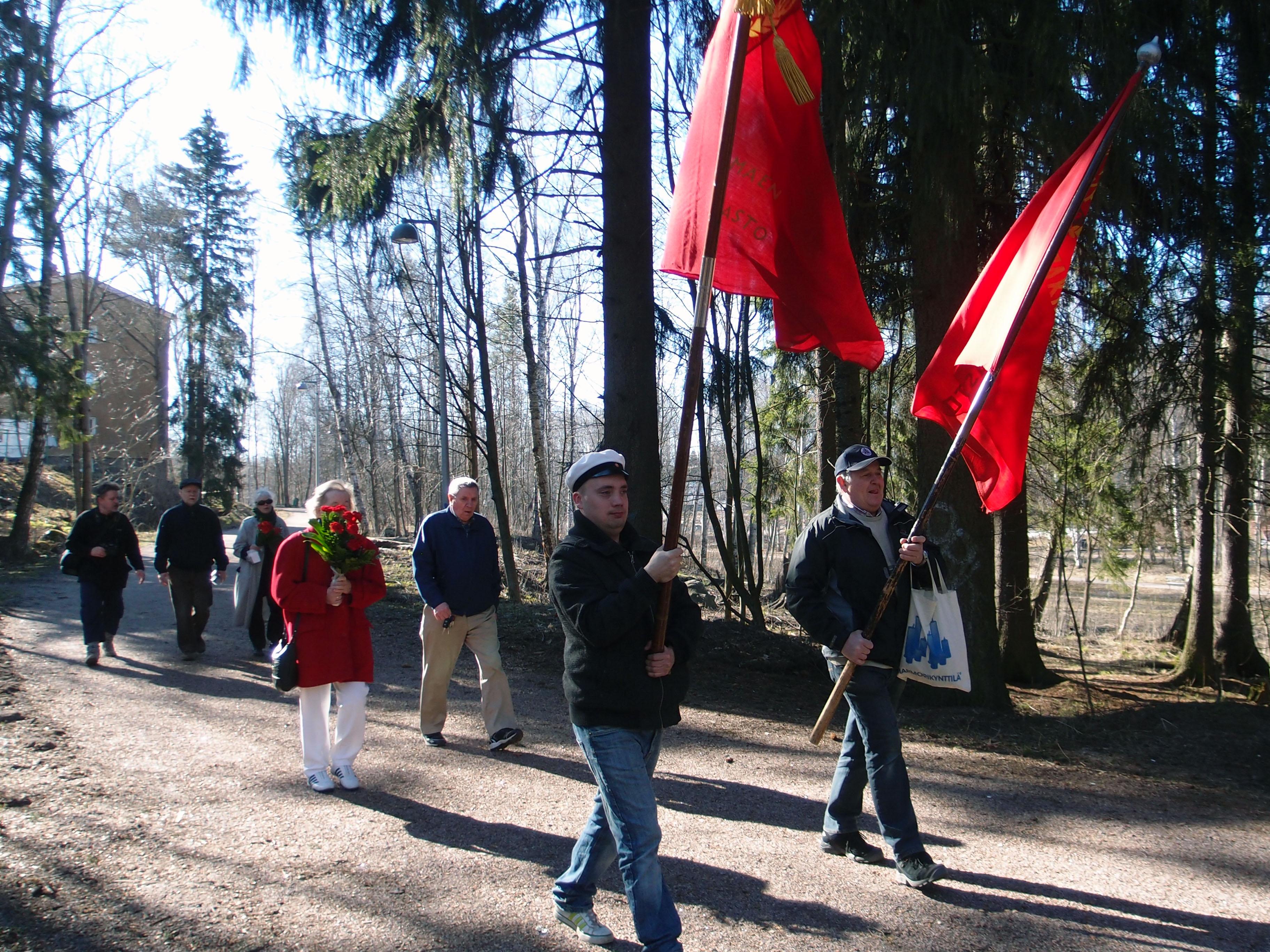 Pakilassa ja Haagassa vietettiin työväen vappua