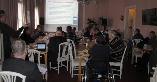 SKP:n Helsingin piirin vuosikokous ja seminaari 12.4.2014