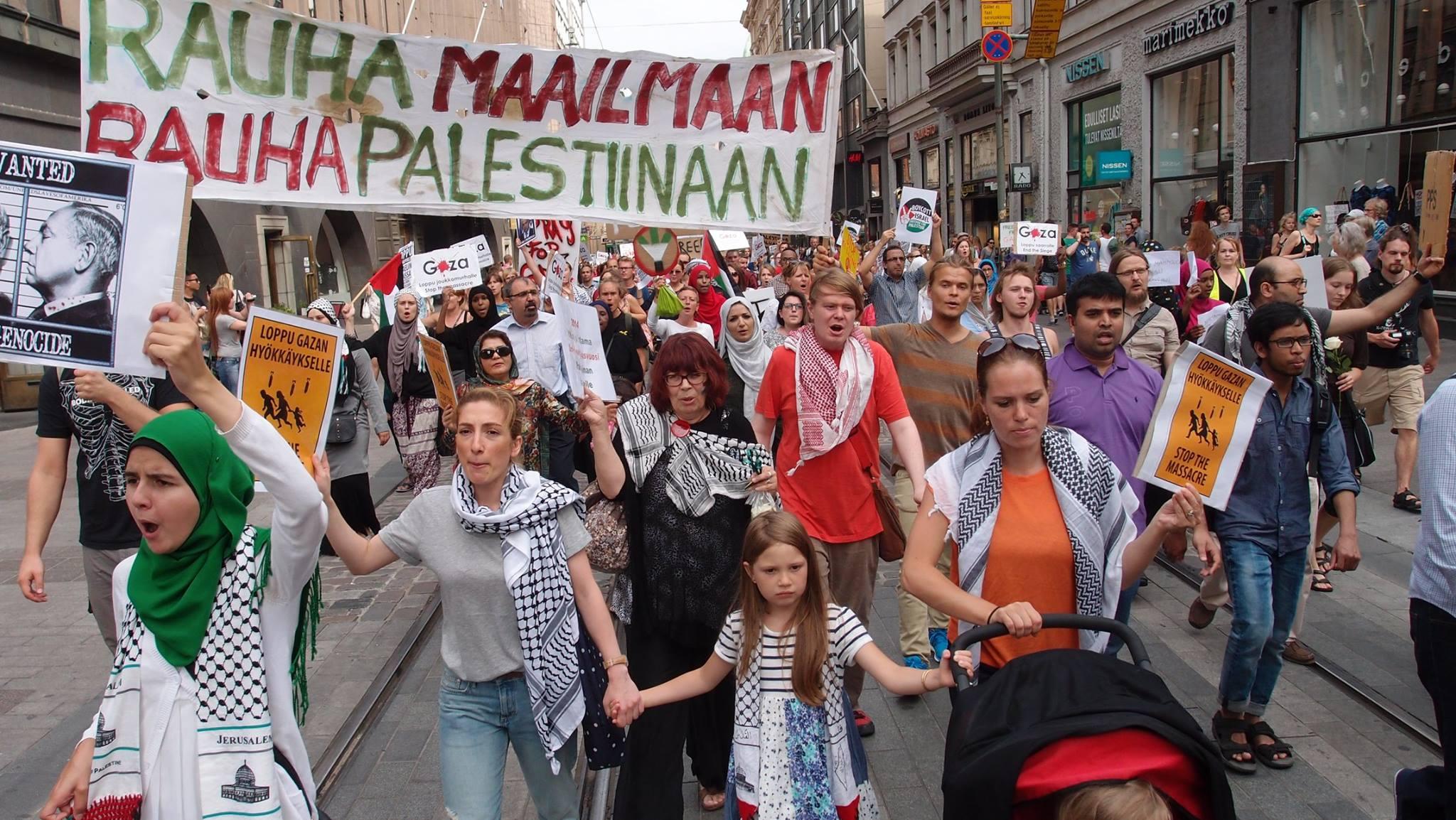 Rauha Gazaan – saarto lopetettava