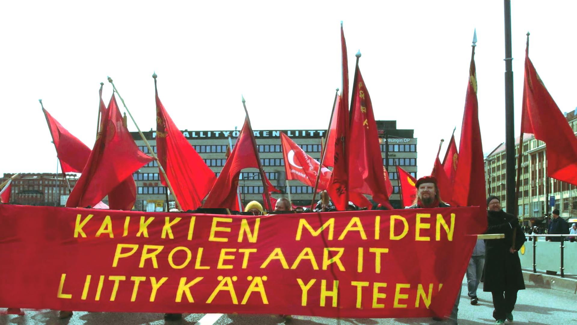 Taistelevan työväen vappu Helsingissä