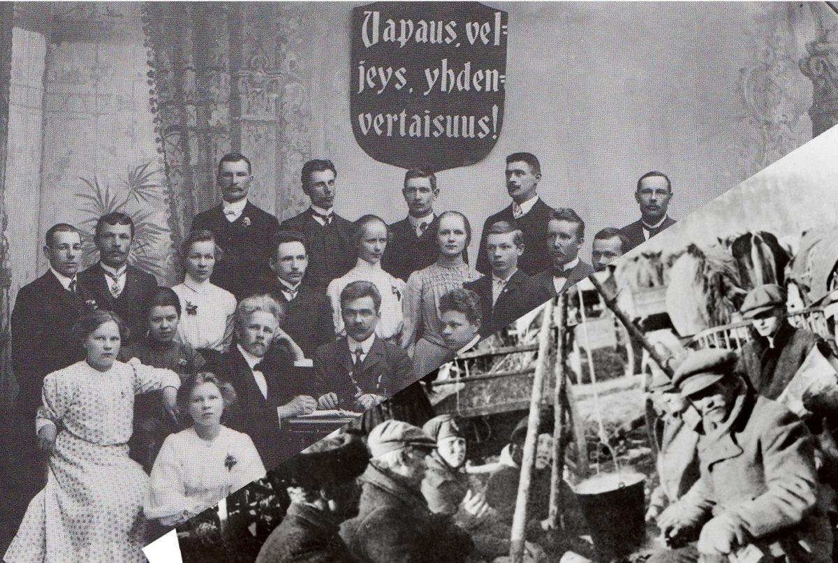 Vallankumous ja sisällissota 1918